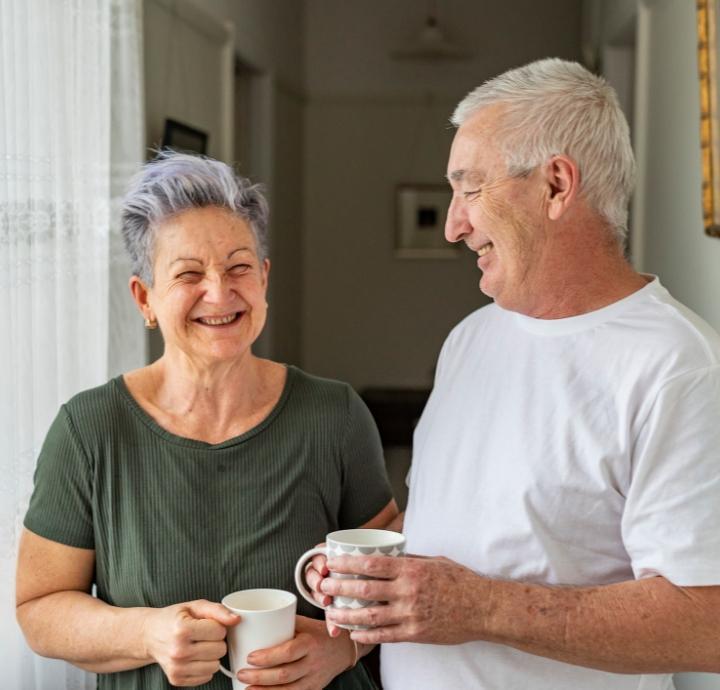 rozmowa seniorów